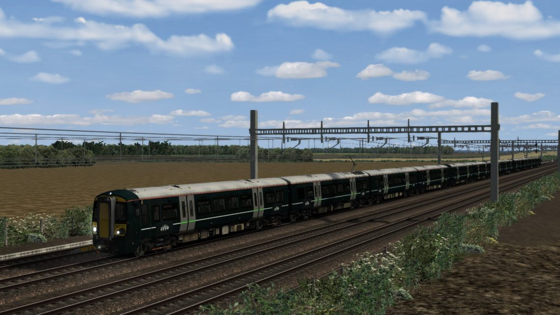 (RP) 5R75 07:52 Paddington-Reading Traincare Depot. GWR Class 387. (ALL ELECTRIC)