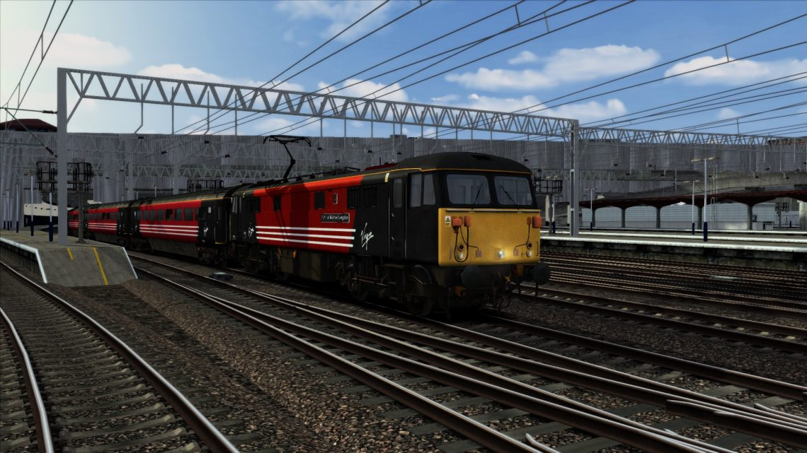 Virgin Trains Class 87 Reskin Pack