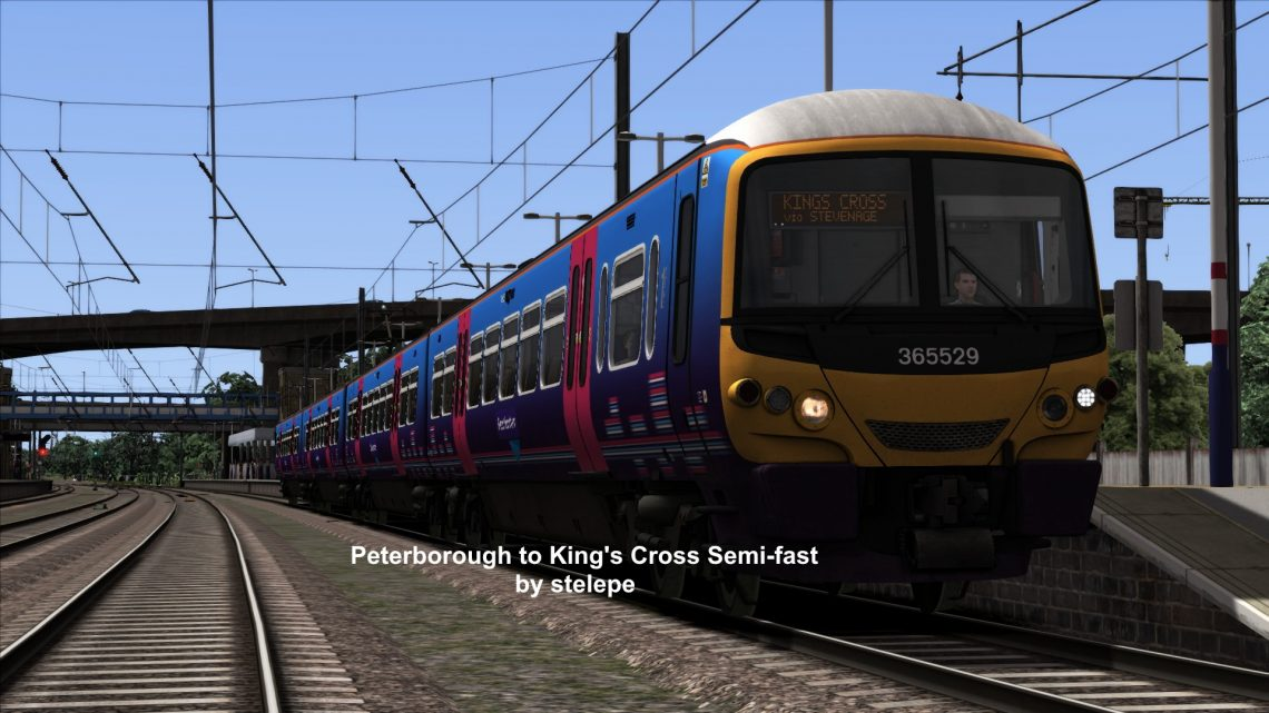 Peterborough to King's Cross Semi Fast (With announcements)