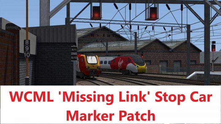 WCML 'Missing Link' Stop Car Marker Patch