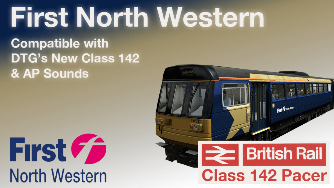 First North Western (Gold Star) Livery for DTG's New Pacer