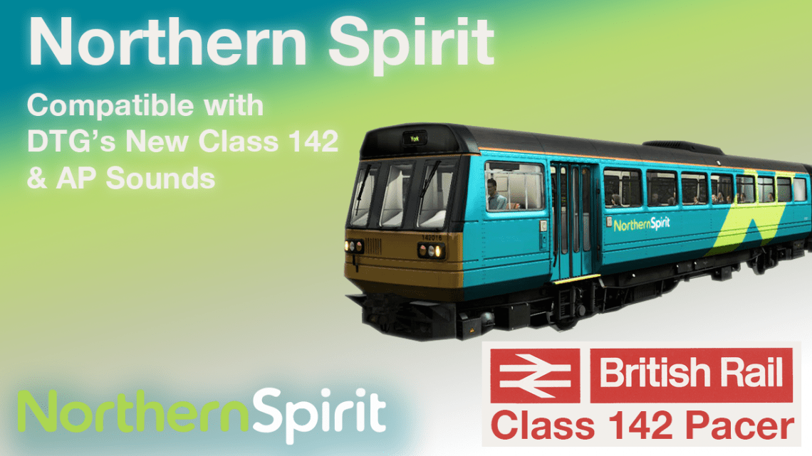 Northern Spirit Livery for DTG's New Pacer