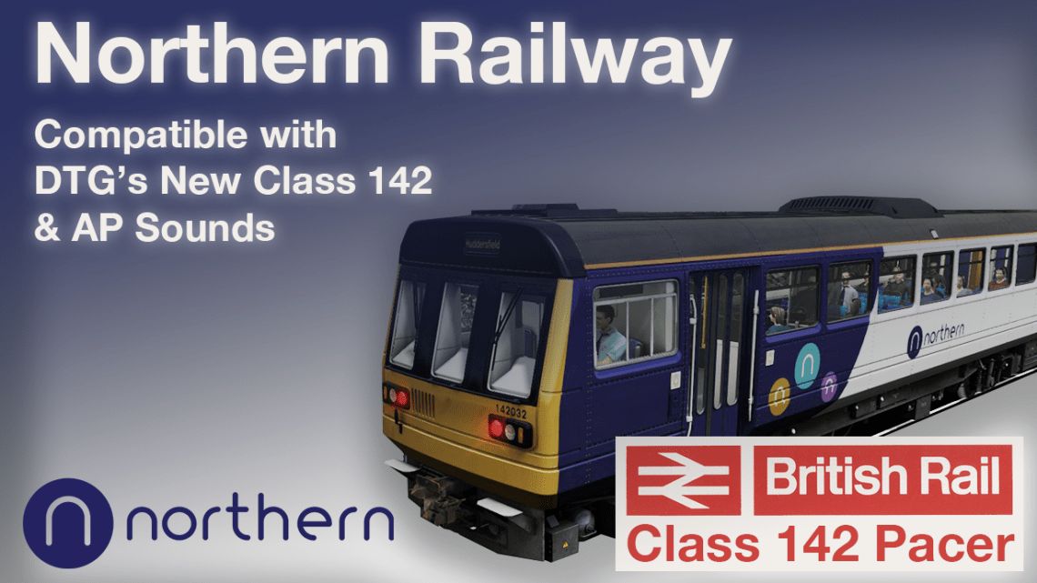 Northern Railway Fictional Refurbished Livery for DTG's New Pacer
