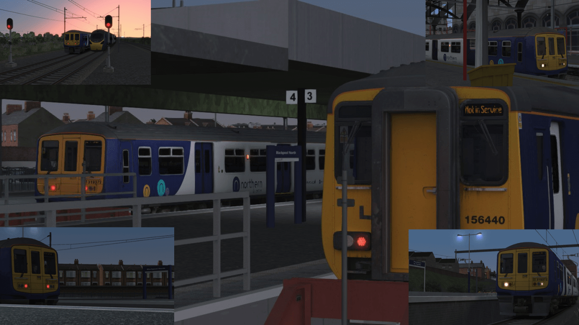 1Y52 0444 Blackpool-Manchester Air