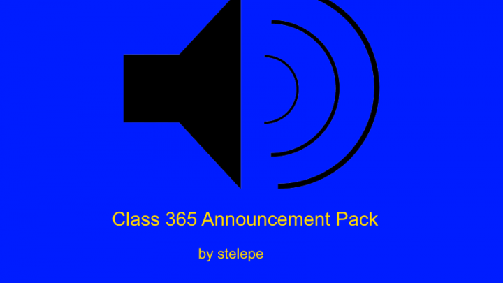 Class 365 Announcement Pack v1.0