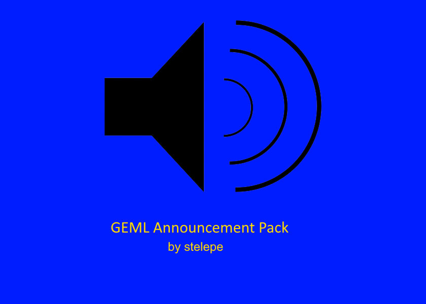 GEML Announcement Pack v1.0