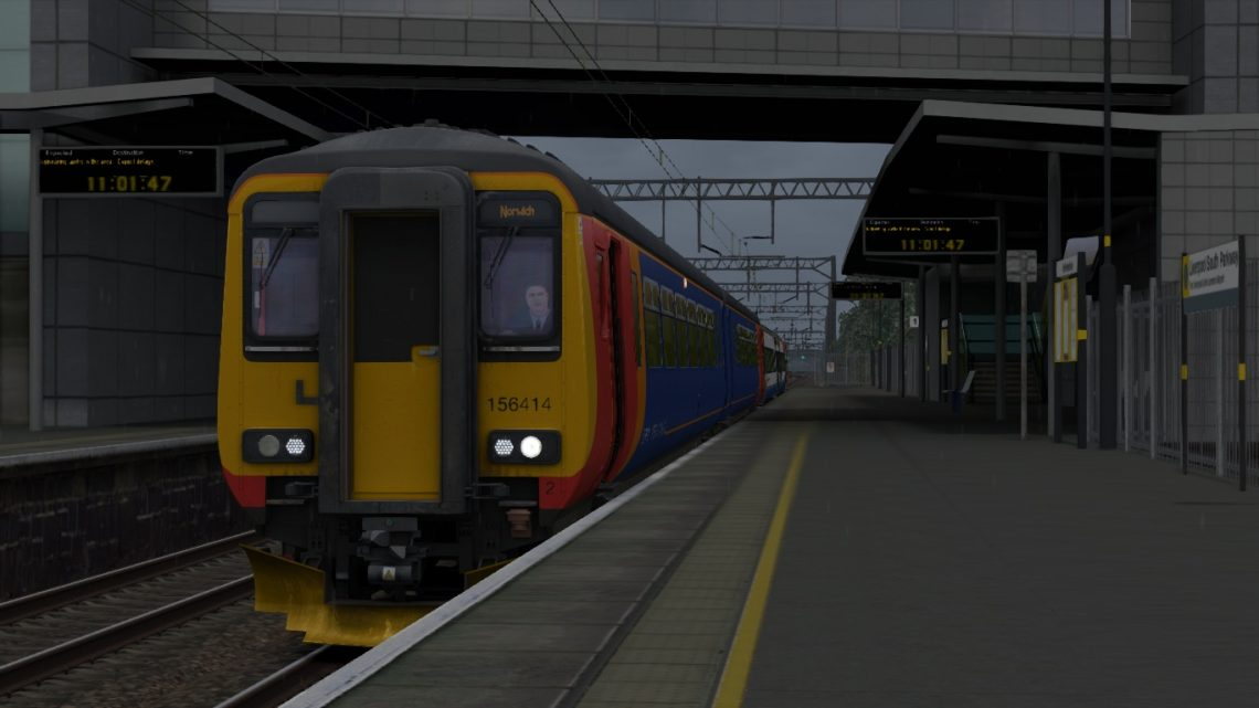 1L09 1051 Liverpool Lime Street – Norwich