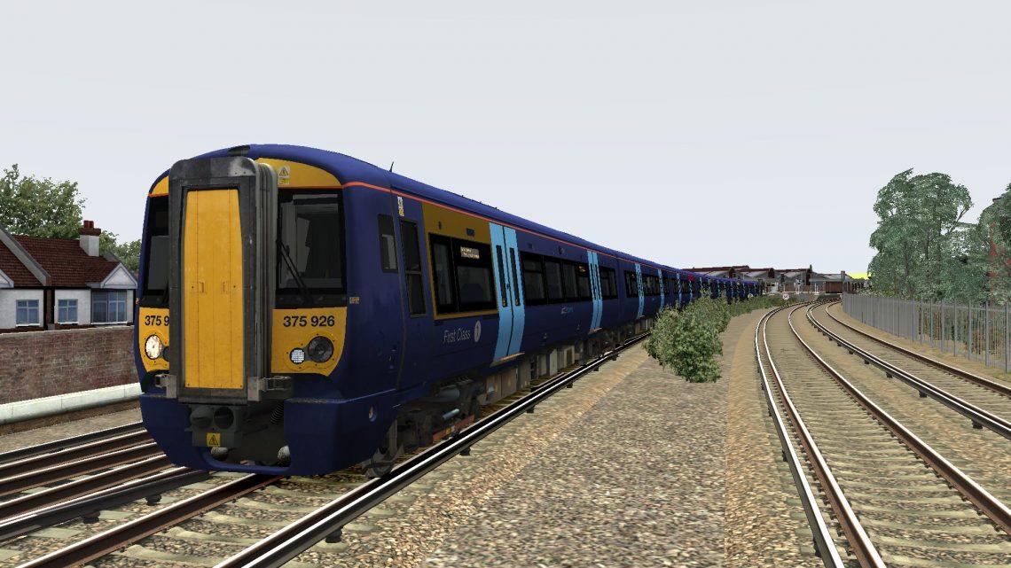 5Y43 1208 Selhurst T&RSMD to London Victoria