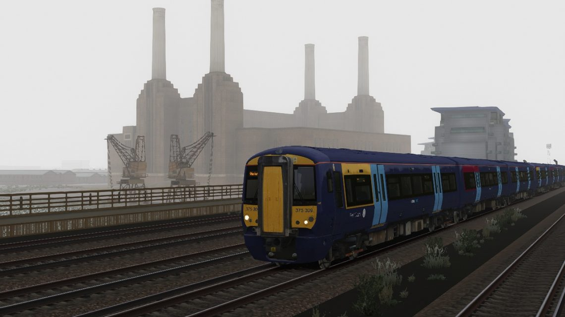 2K60 07:00 Sheerness on Sea to London Victoria
