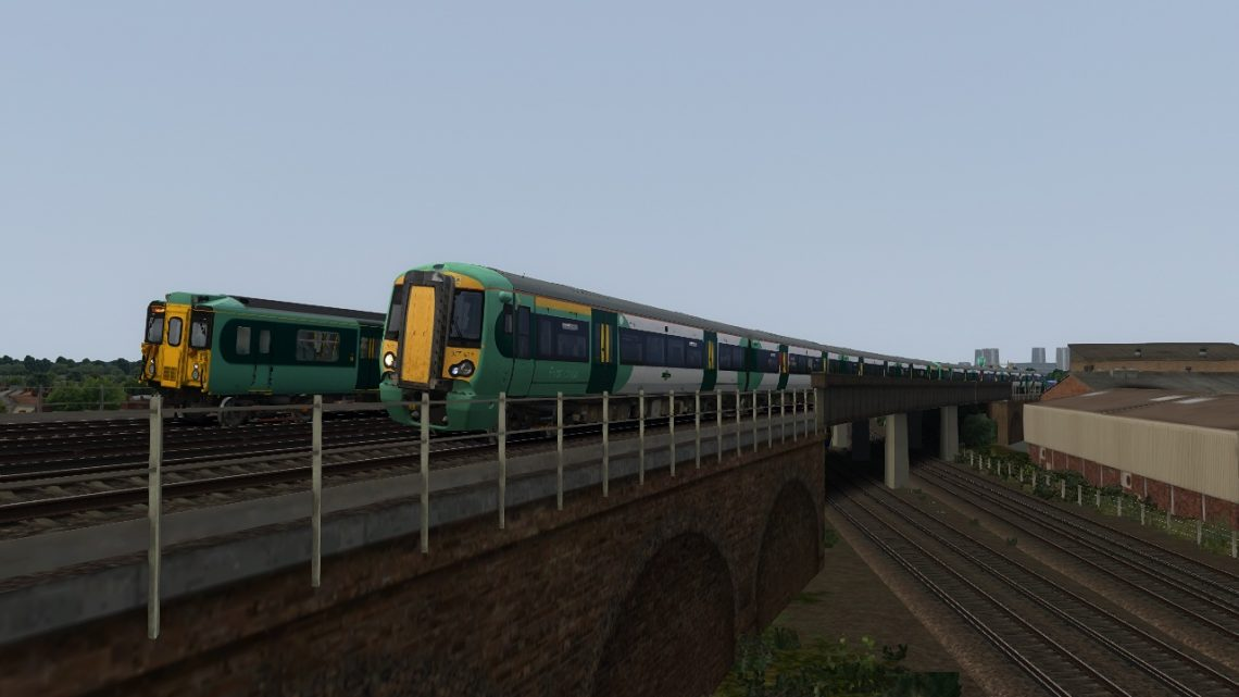 1R87 07:06 Reigate to London Victoria