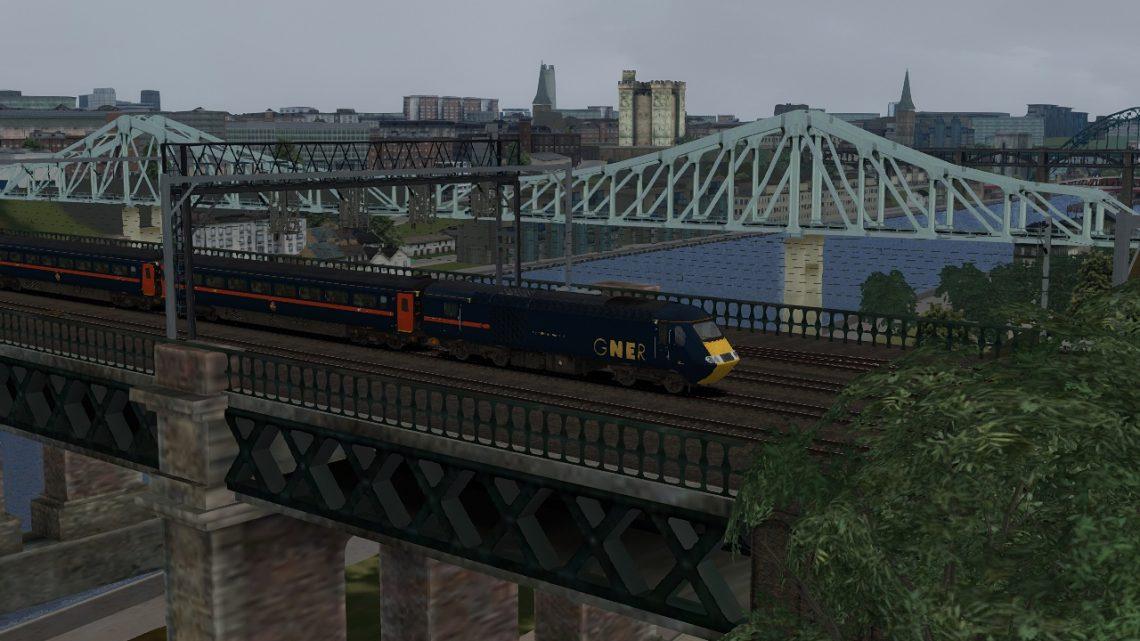 1V52 08:40 Newcastle to Paignton c2005 Pt.1