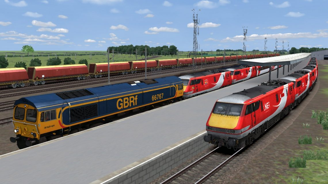 5Z91- 0845- Bounds Green T&R.S.M.D to Doncaster Down Decoy Gbrf