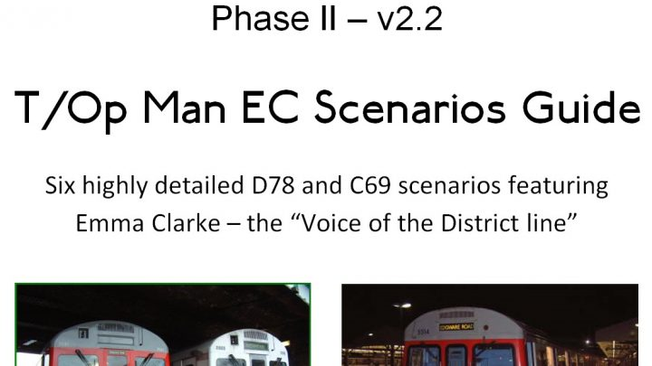 Virtual District Team T/Op Man E.C. Edition Scenario Pack Payware ( Charity )