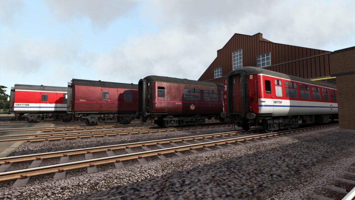 London Underground Heritage Fleet Coaches