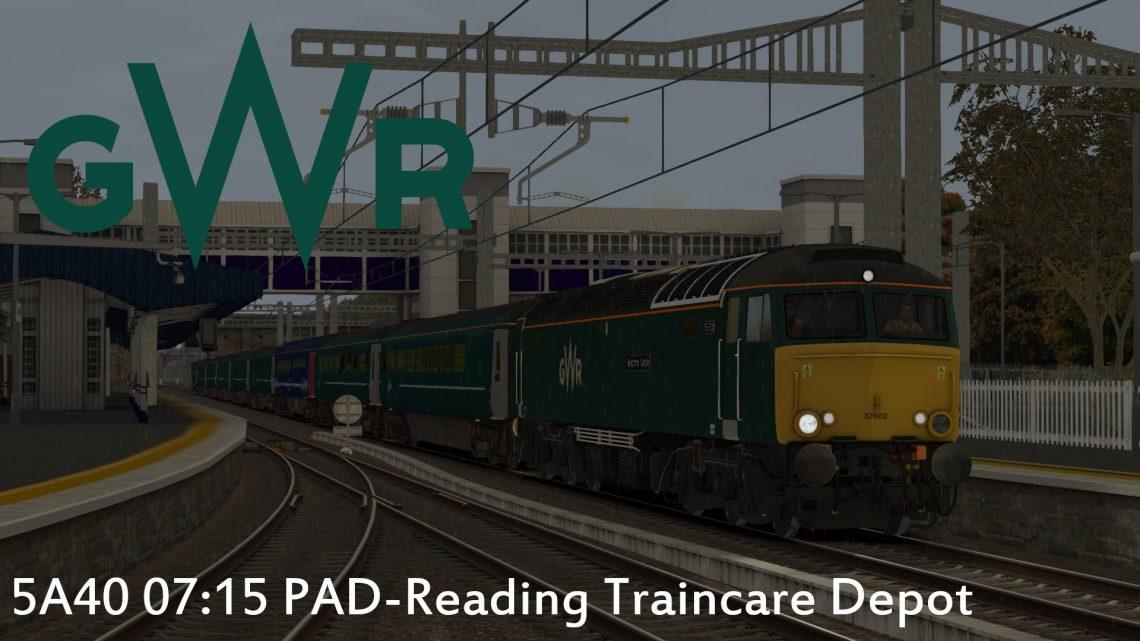 5A40 07:15 PAD-Reading Traincare Depot