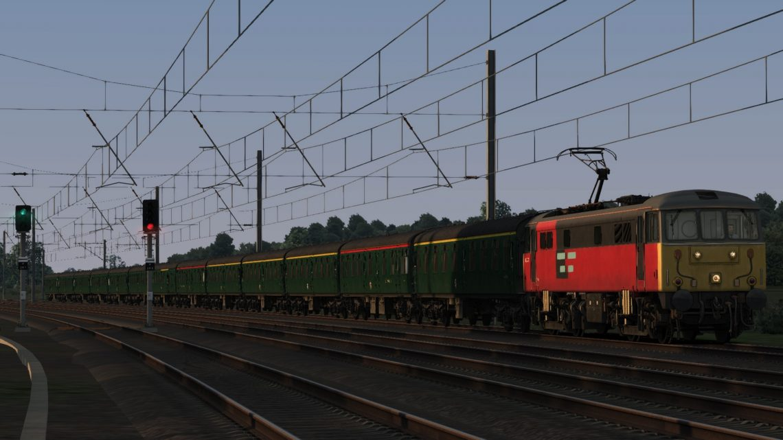 1A51 17:14 Chesterfield to London Kings Cross – 'The Twisted Spire'