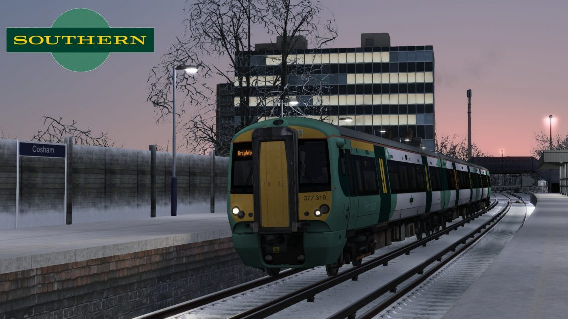 2N30 16:14 Portsmouth Harbour to Brighton