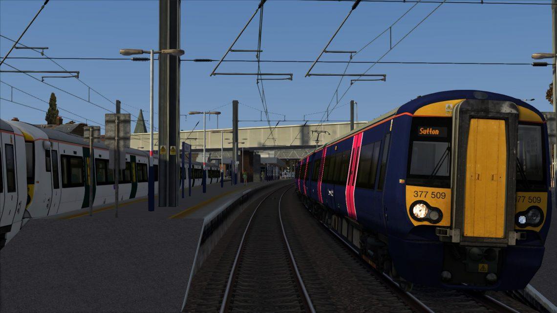 2O93 16:44 St Albans City to Sutton (Surrey)