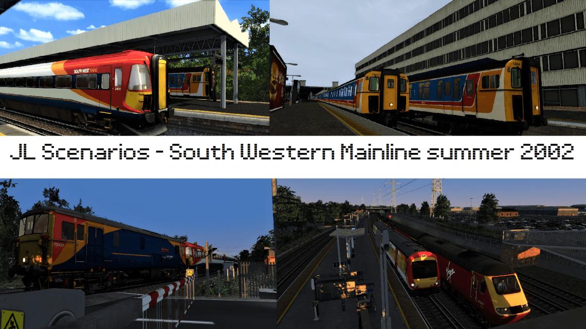 South Western Mainline summer 2002 scenario pack.