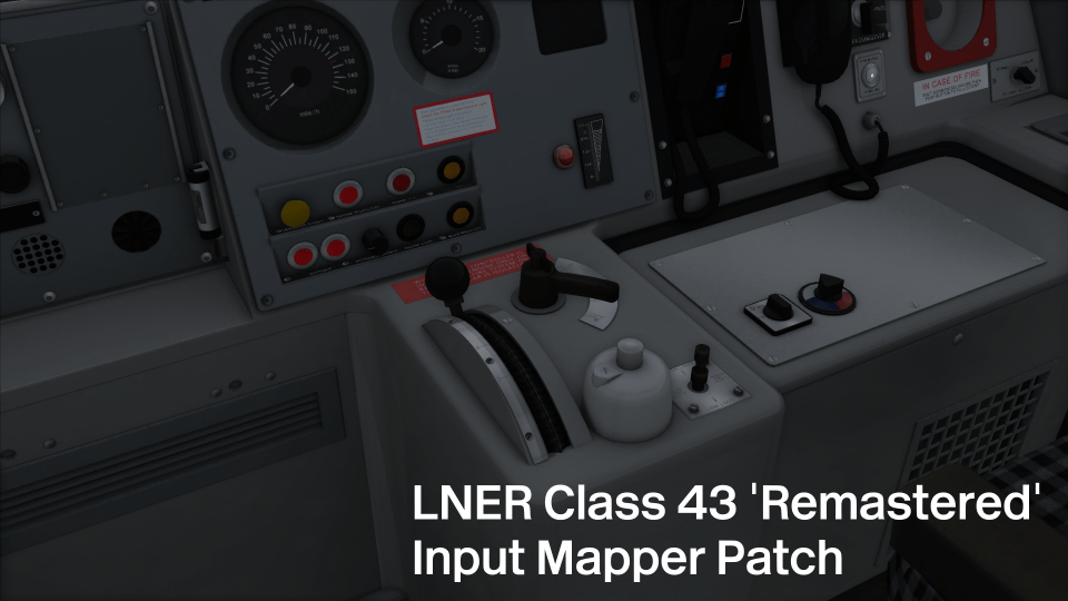 LNER Class 43 'Remastered' Input Mapper Patch