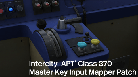 Intercity 'APT' Class 370 Master Key Input Mapper Patch