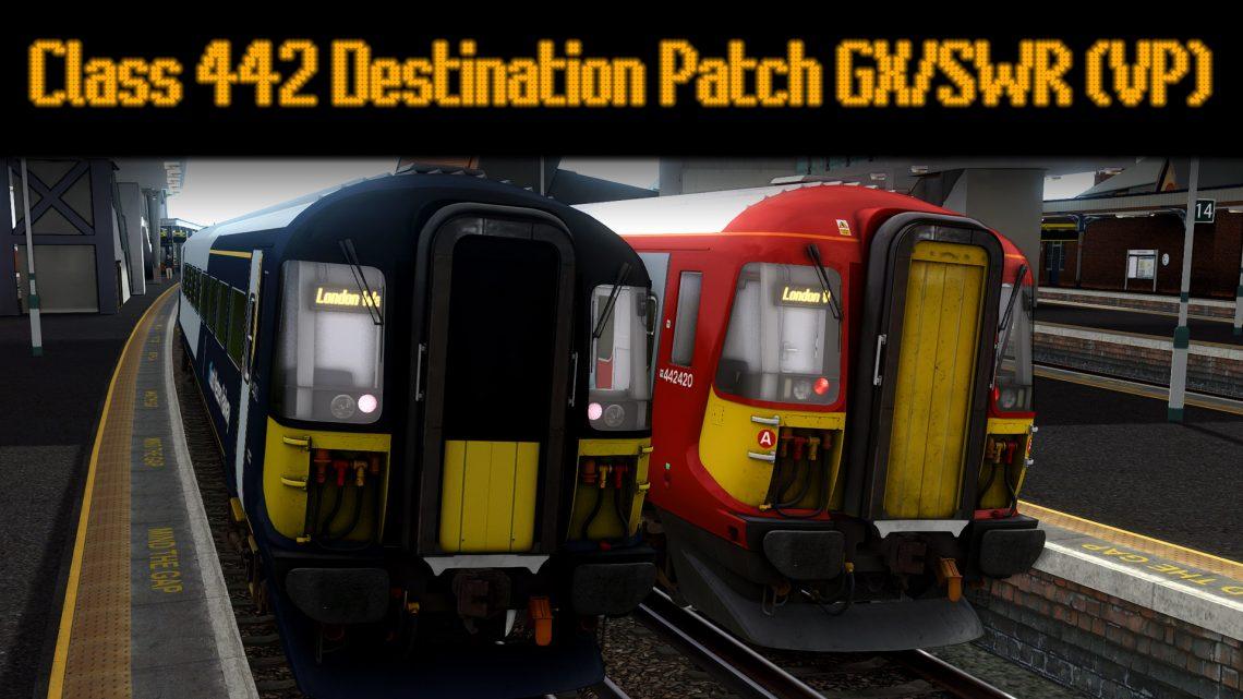 Class 442 Destinations Patch