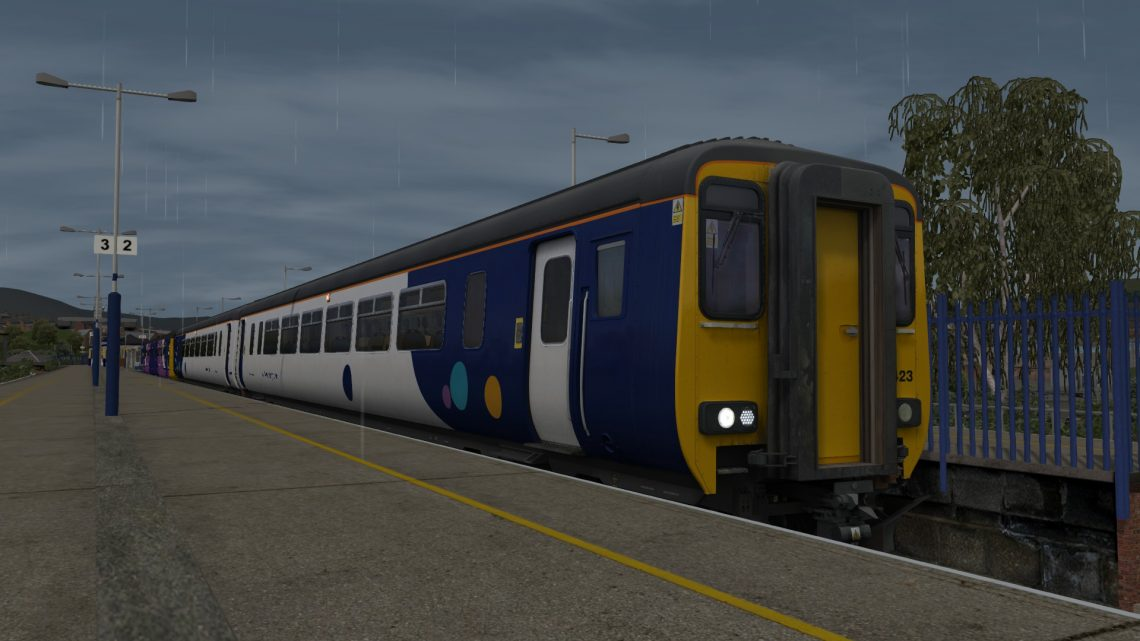 2Z23 1600 Stalybridge to Manchester Piccadilly