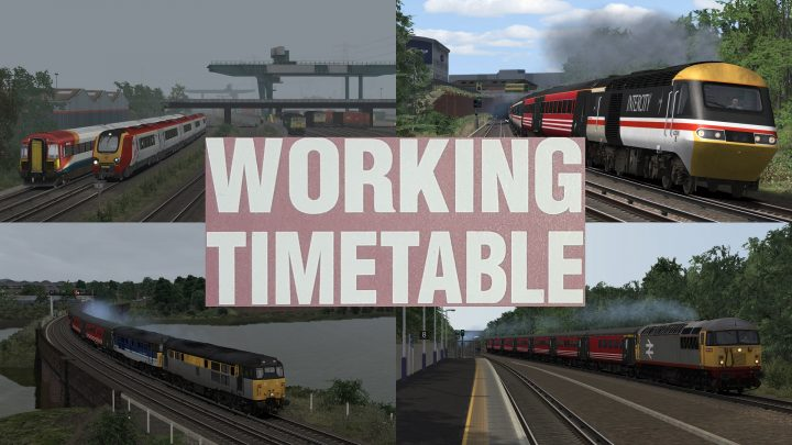 WORKING TIMETABLE SCENARIOS – SCENARIO PACK 8 SOUTH WESTERN MAINLINE: SOUTHAMPTON TO BOURNEMOUTH (XC) 1998 – 2002
