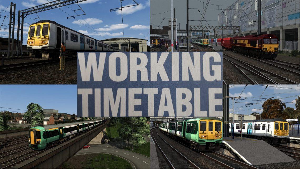 Working Timetable Scenarios – Scenario Pack 7 – Midland Mainline London St Pancras to Bedford 2014 SP07