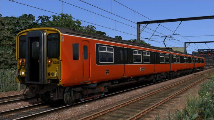 Strathclyde Orange & Black Class 318