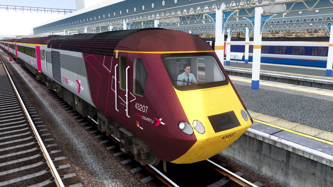 1V54 Newcastle to Bristol Temple Meads