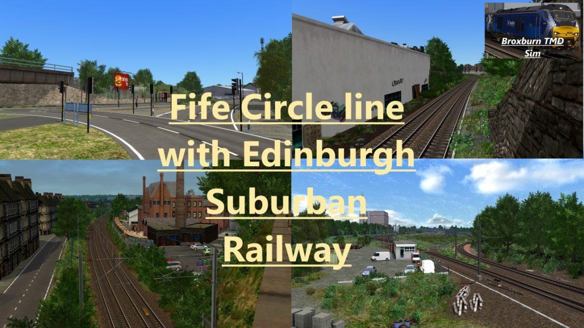 Fife Circle with Edinburgh Suburban Railway (v0.1)