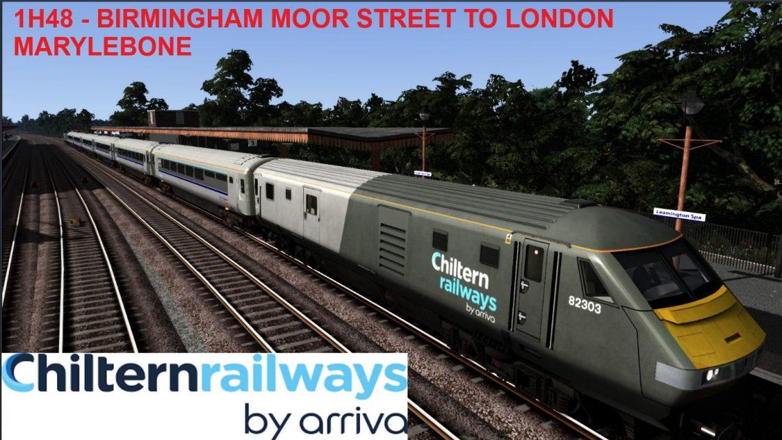 1H48 – Birmingham Moor Street to London Marylebone [WTT]