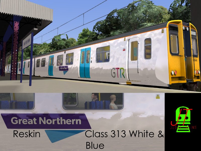 Great Northern White & Blue Class 313