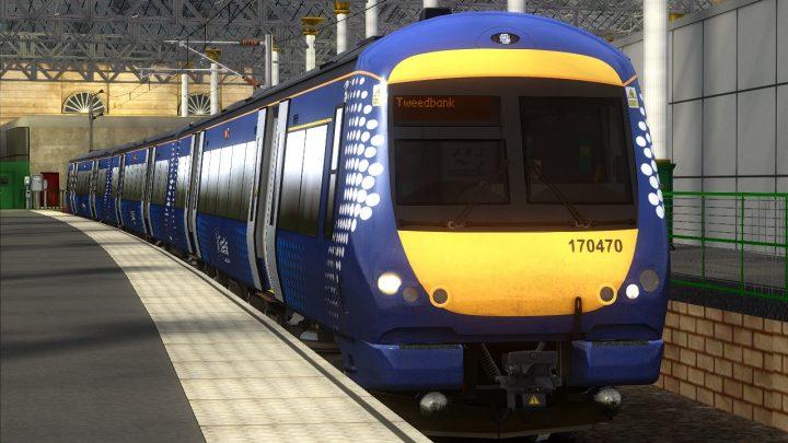 2T70 – 09:24 Edinburgh Waverley to Tweedbank