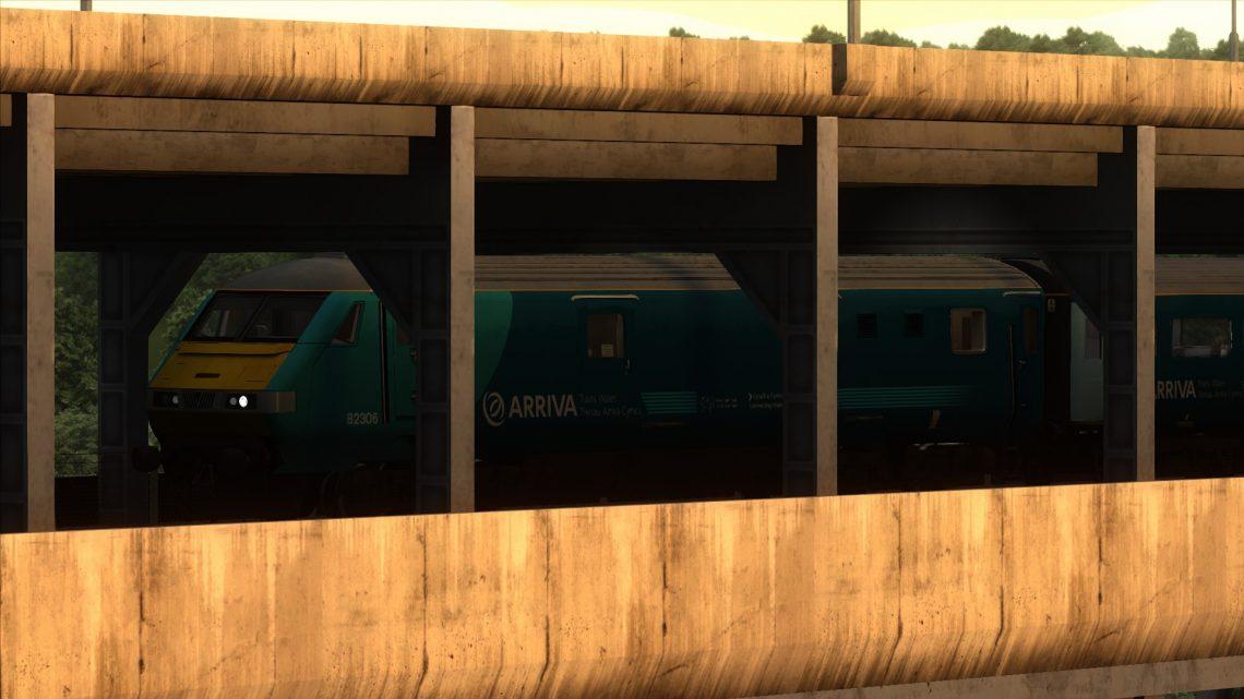 Class 67 / MK3 DVT & Carriages Modification