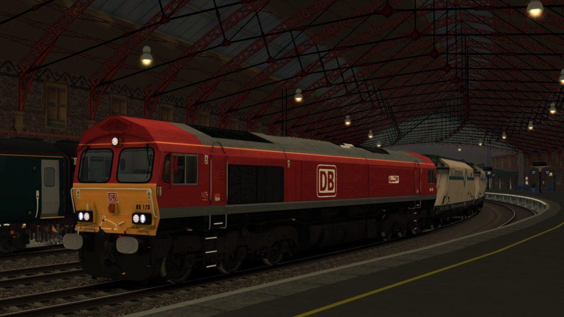 (RP) 6Z60 Parkandillack-Bescot Down Siding. 02,07,2020 (66175 RailRiders)