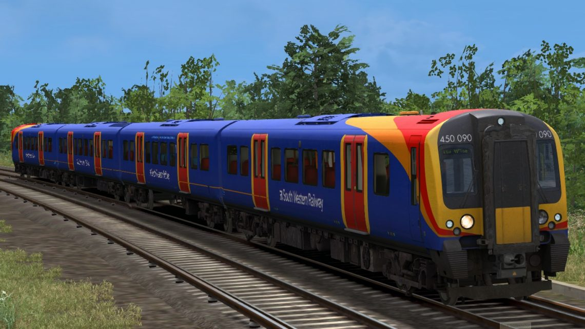 2B60 15:50 Poole to London Waterloo