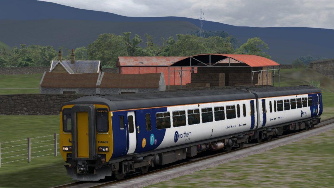 1C71 13:02 Lancaster to Windermere