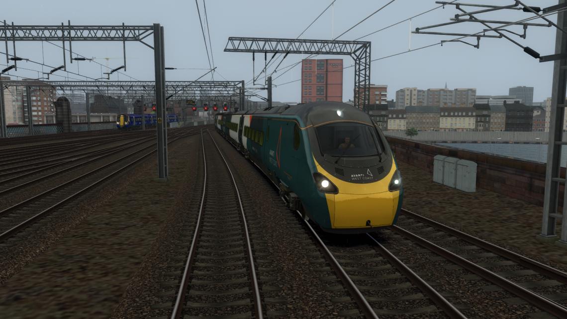 1M19 Glasgow Central to London Euston