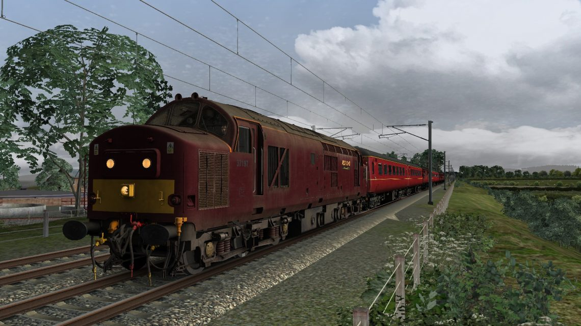 5Z34 0805 Carnforth to Morecambe (Fictional)