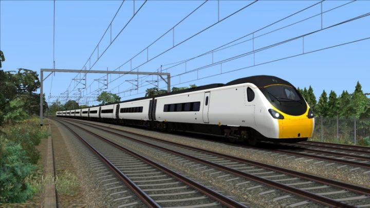 Unbranded Class 390 'Pendolino'