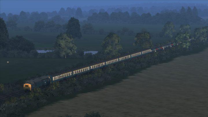 1V59 22.00 Stirling – Newton Abbot 'Motorail'