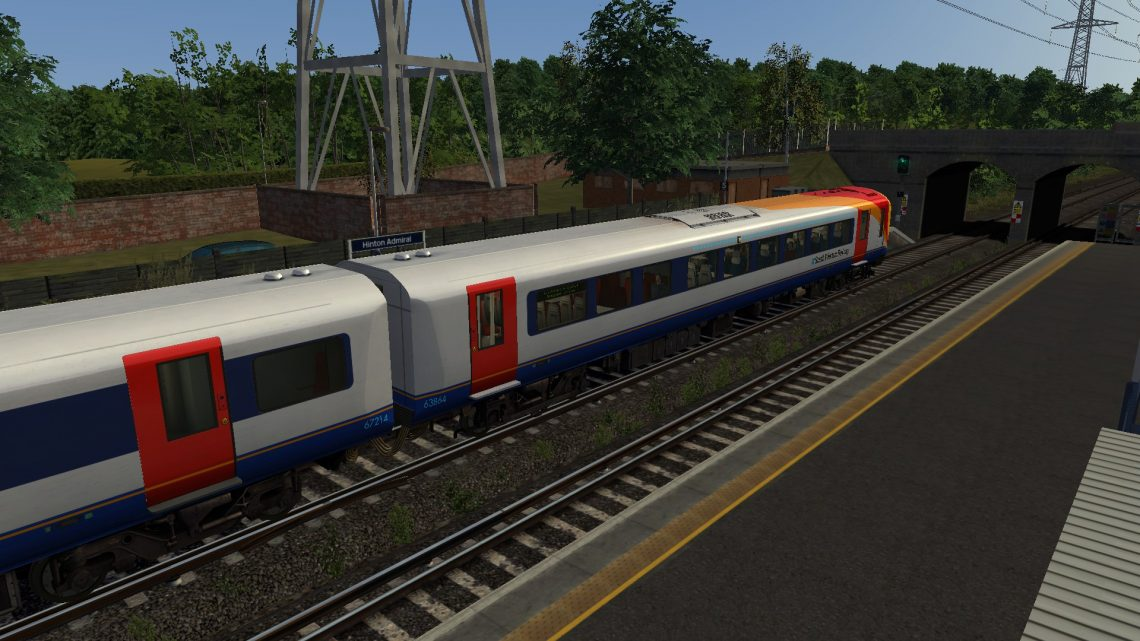 2B24 0700 Bournemouth to Southampton Central