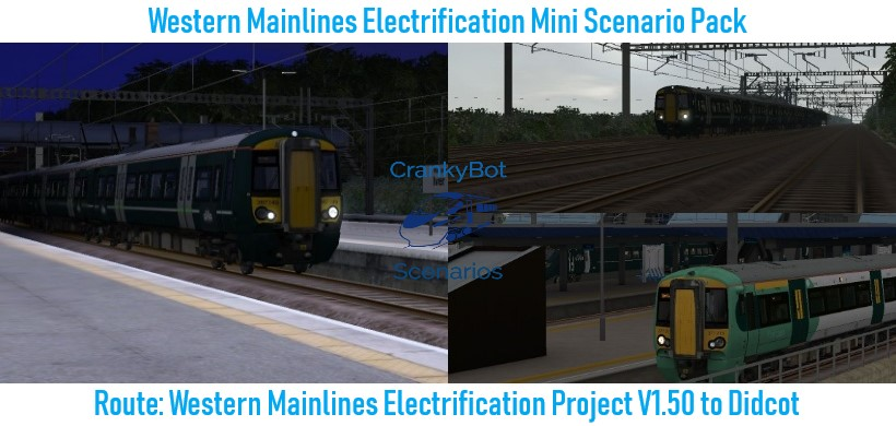 [CB] Western Mainline Electrification Mini Scenario Pack