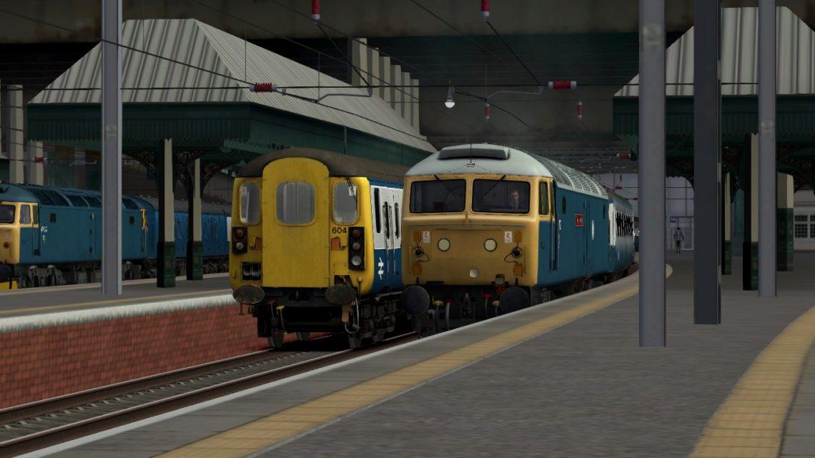Edinburgh/Glasgow BR Blue Class 47 Push-Pull Express Scenario Pack