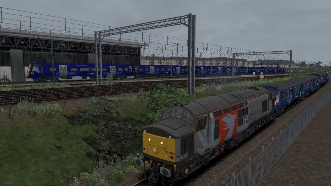 5Q83- 0907- Kilmarnock Bonnyton Depot- Yoker C.S.