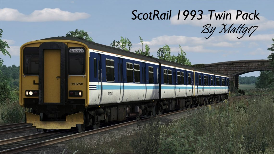 ScotRail 1993 Twin Pack