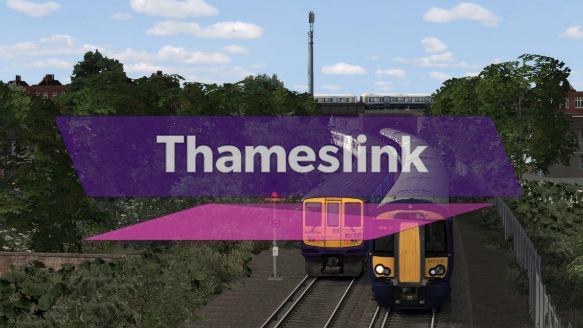 1H81 16:50 Bedford to Beckenham Junction / 1G63 18:30 Beckenham Junction to Bedford
