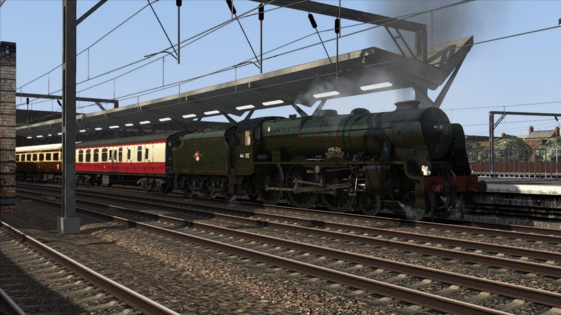 1Z61 Crewe To York 'Royal Scot'
